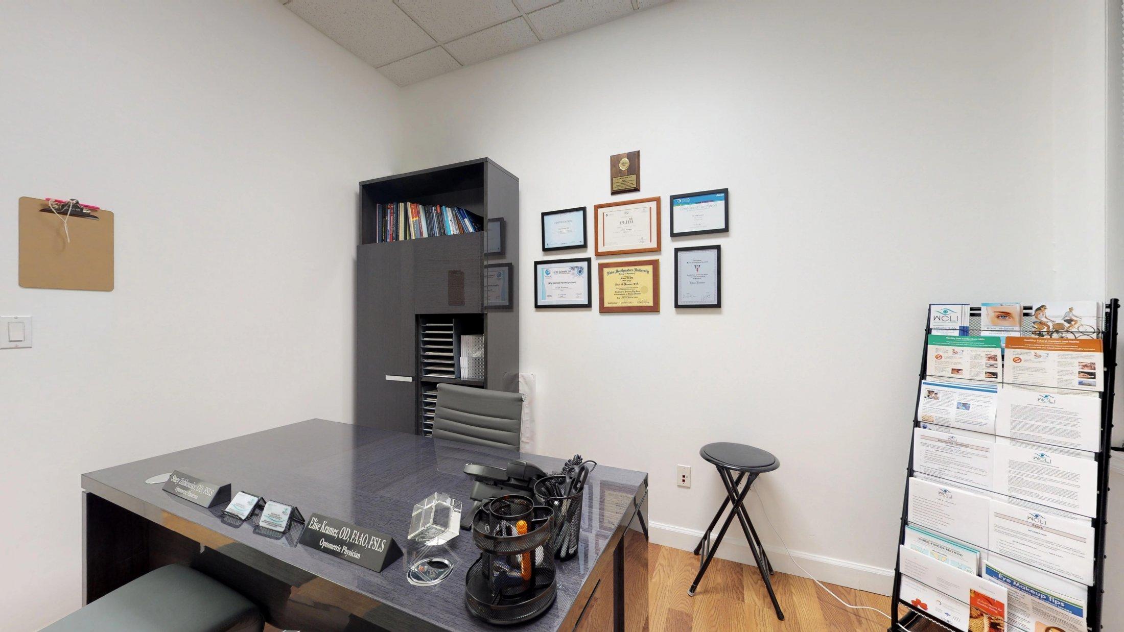 Dr-Elise-Kramer-Optometrist-Office-Weston-FL