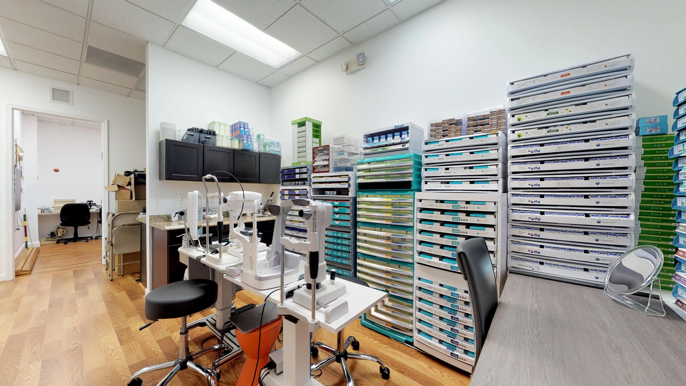 optometrist eye exam Weston FL